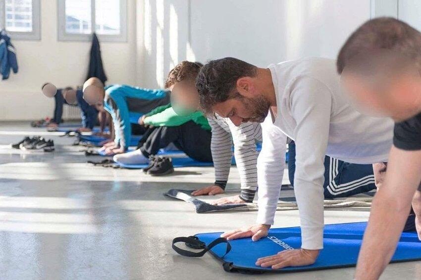 Μαθήματα Yoga στις Φυλακές Δομοκού
