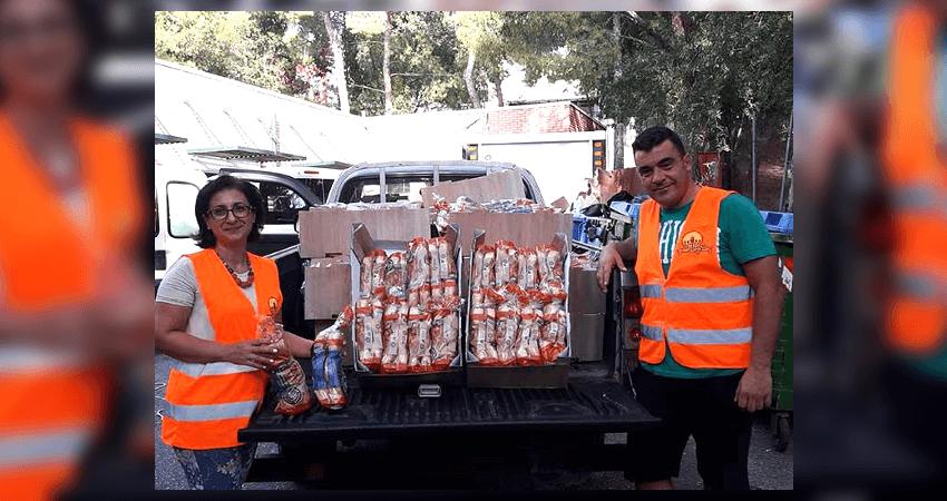 Η Πνοή Ελπίδας έχει ενεργή κοινωνική προσφορά διανομή τροφίμων, χαρτικών και απορρυπαντικών κάθε μήνα σε οικογένειες