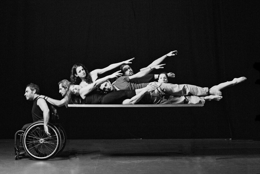 Από παράσταση της μικτής ομάδας σύγχρονου Χορού «Δαγίπολη»