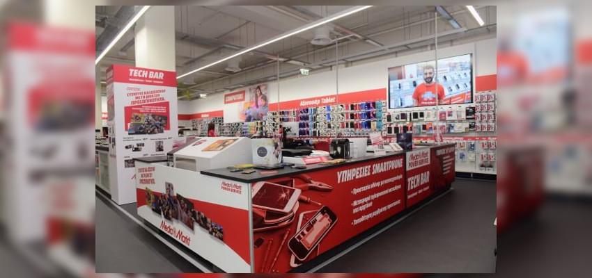 Το Mediamarkt διαθέτει τμήμα για επισκευές και επιδιορθώσεις για smartphones και tablets. | YouBeHero