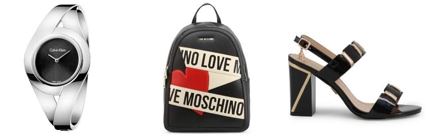 Ρολόι Calvin Klein - Τσάντα Moschino - Γυναικεία υπόδηση στο 99fashionbrands