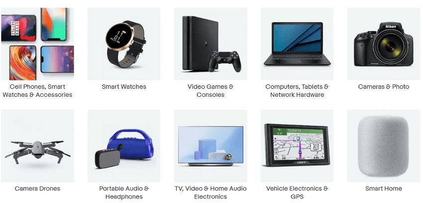 ebay ηλεκτρονικά και τεχνολογικά προϊόντα