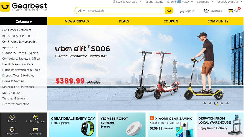 Στην ιστοσελίδα του Gearbest θα βρείς απο Ρούχα, μέχρι Ρολόγια, Ηλεκτρονικά, Drones, τα πάντα! | YouBeHero