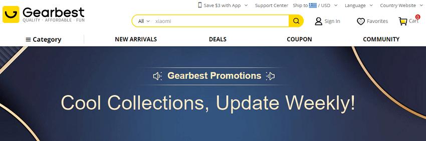 Στο Gearbest θα βρείς πάνω απο 110.000 προσφορές! | YouBeHero